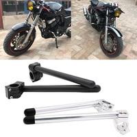 2Pcs Set Motorcycle Handlebar Racing Adjustable CNC 31 32 33 35 37 39 41 50 51mm