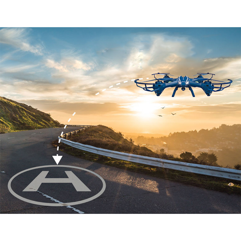 New Arrival RC Drone With 5.0MP HD Camera UDI U818SW 2.4G 4CH 6-Axis RC Helicopter Quadcopter