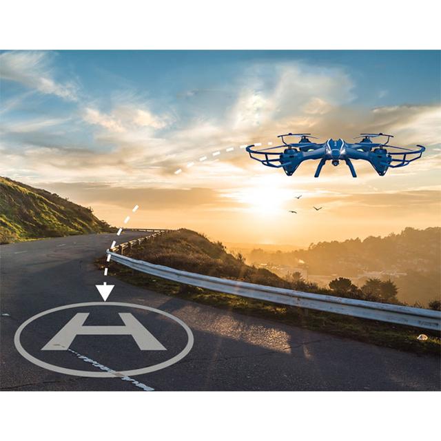 Nova Chegada RC Drone Com Câmera 5.0MP HD U818SW UDI 2.4G 4CH 6-Axis RC Helicóptero Quadcopter