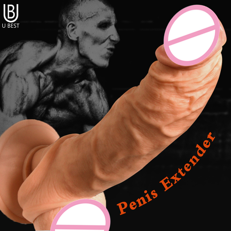 soft silicone realistic thick penis ring for time delay male cock penis sleeve extender scrotum Reusable Condoms sex toy for mensoft silicone realistic thick penis ring for time delay male cock penis sleeve extender scrotum Reusable Condoms sex toy for men