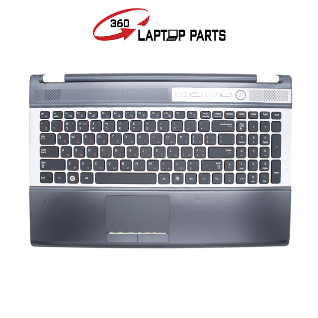 6ea2ef3774c Topcase For Samsung RF511 RF510 RU Russian laptop keyboard with Cover C case  Palmrest Touchpad