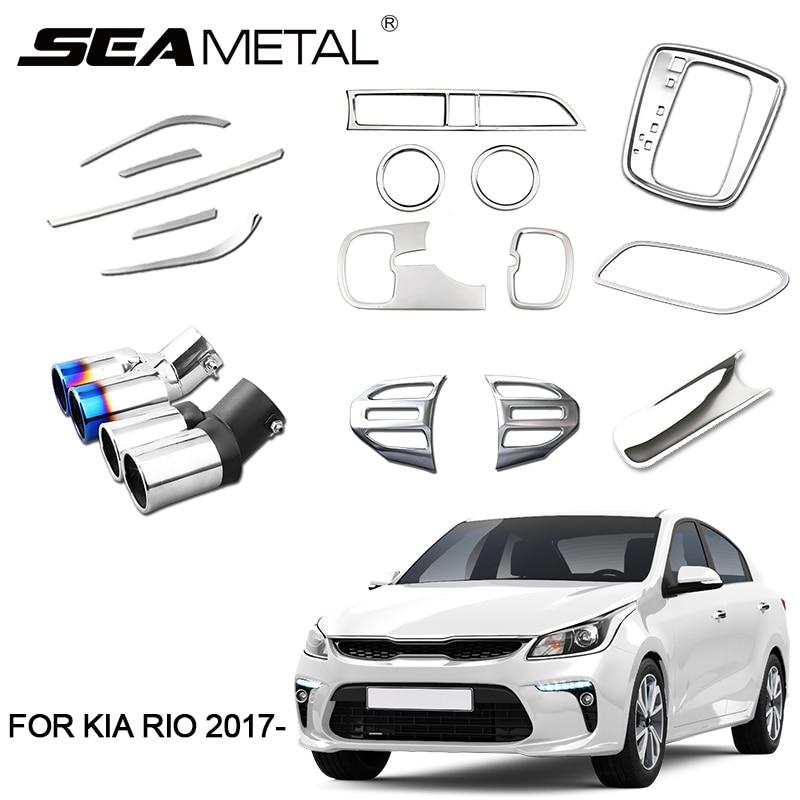 2018 Kia Rio Interior: For LHD Russia Model KIA RIO 4 K2 2018 2017 X Line ABS