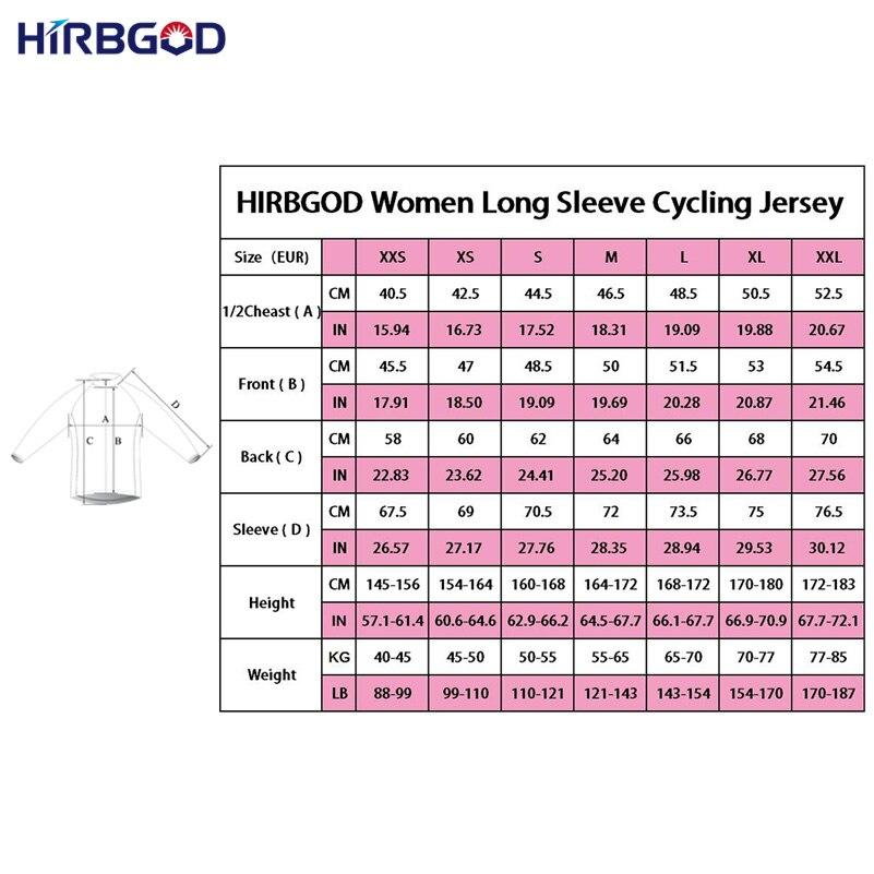 HIRBGOD Γυναικείες κόκκινες μπλούζες - Ποδηλασία - Φωτογραφία 4