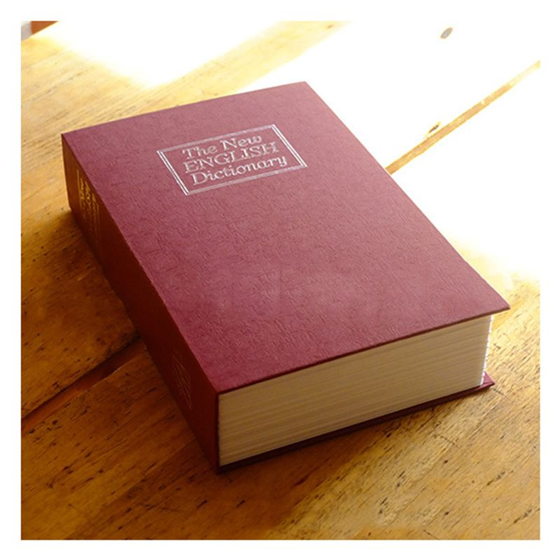 Practical Boutique Dictionary Book Safe Diversion Secret Hidden Security  Stash Booksafe Lock&Key