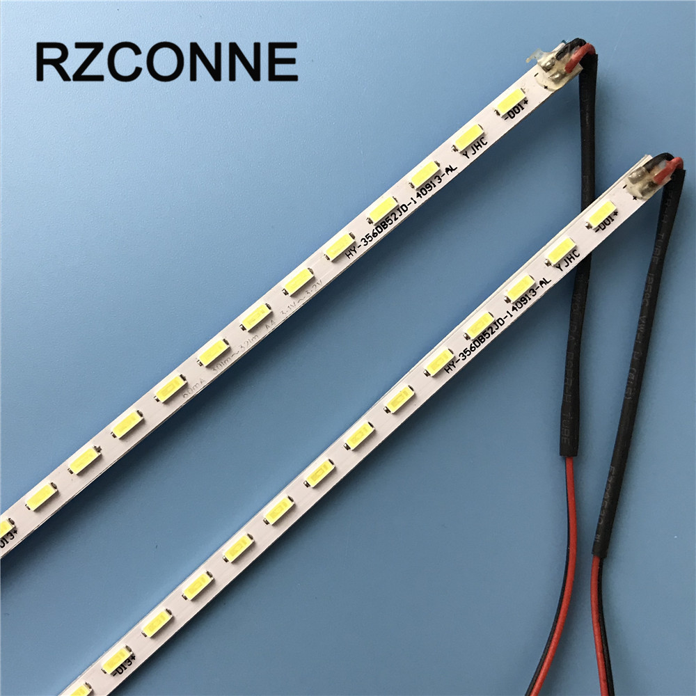 32inch 357mm LED Backlight Lamp Strip Aluminum Plate W/ Double-sided Adhesive For 32'' LCD Monitor High Light