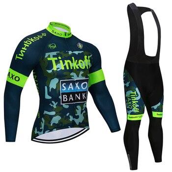 2017 Pro Cycling Team Jersey Quick Dry Jerseys de Manga Longa E Ciclismo Bib Define Ciclismo Roupas 3 Cor