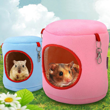 2colors Hamster House Pet Hamster Hedgehog Guinea Pig Hammock Small Pet Cute Sleeping House Hamster Sleep Accessories Supplies27 m004a cute lovely 2 floor pet house w slide runner waterer for hamster multicolored