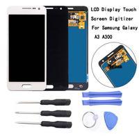 Có Khung Màn Hình LCD Màn Hình + Bộ Dụng Cụ Màn Hình Cảm Ứng LCD Bộ Số Hóa Bộ Dụng Cụ Dụng Cụ Dành Cho Samsung Galaxy Samsung Galaxy A3 2015 A300F