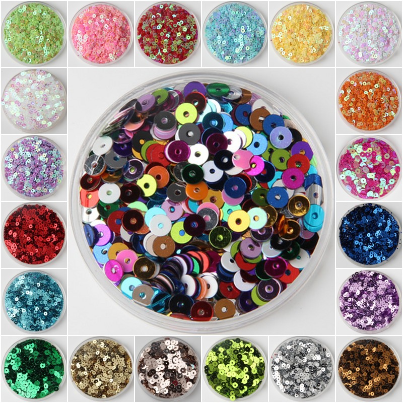 Diy-Accessory Decoration Paillette-Sewing-Clothes Crafts Sequin Coser Round Lentejuelas