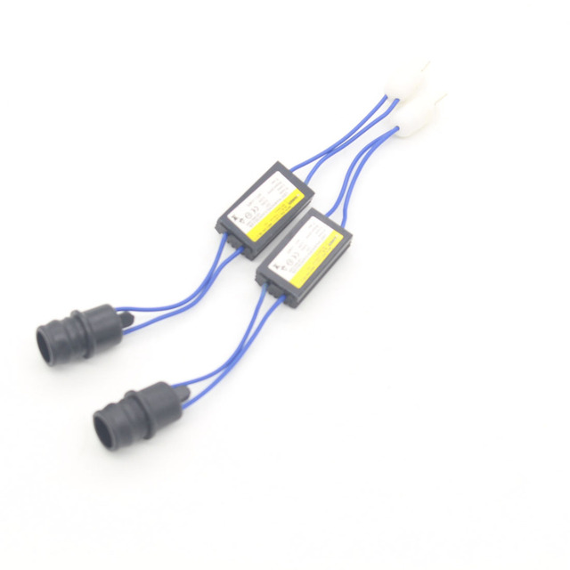 1X T10 T15 194 W5W 168 921 Canbus Error Warning Canceller Decoder Resistor for LED Bulb