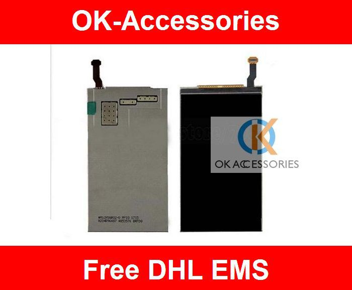 2 lots US $16 / piece LCD screen display for Nokia X7 10pcs/lot free shipping by DHL EMS
