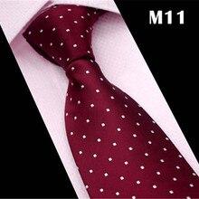 SCST бренд Cravate Классический белый горошек Красный шеи галстуки для мужчин галстук мужские s свадебные галстуки тонкий галстук Gravata CR034