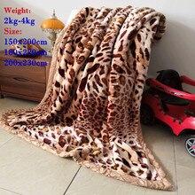 high quality Winter warm thick blanket Raschel super soft 2~4 kg heavy thickening