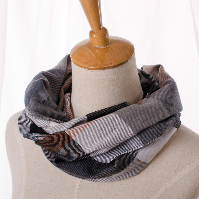Buffalo Plaid Cashmere Scarf | Men's Scarves | Up to 60% Off Now