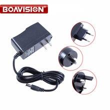 Квалифицированный AC 110-240V к DC 12V 1A CCTV адаптер питания, EU/US/UK/AU штекер ABS пластик