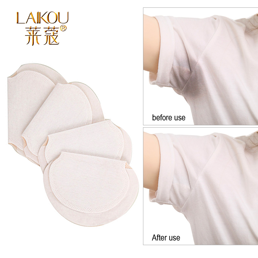 LAIKOU Brand Underarm Sweat Pads Summer Underarm Deodorants Stickers Dress Clothing Shield Sweat Perspiration Pads Que  Woman