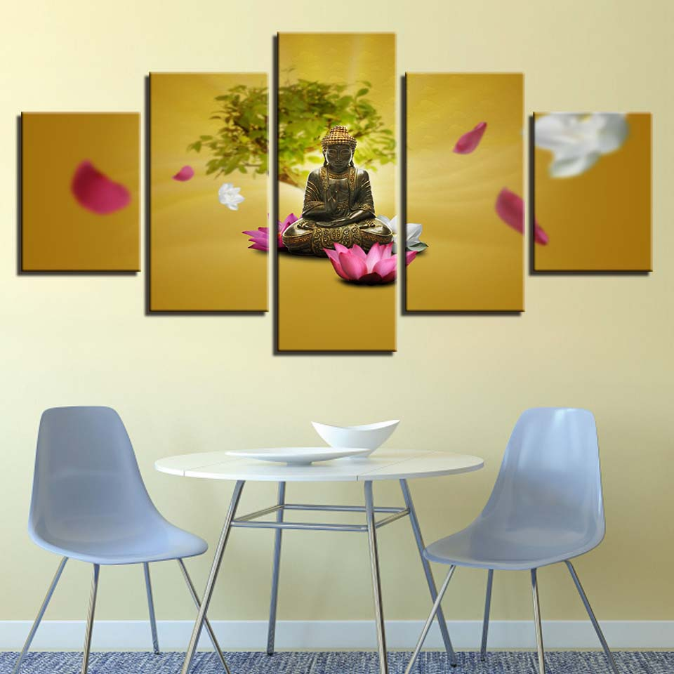 Generous Lotus Wall Art Pictures Inspiration - The Wall Art ...