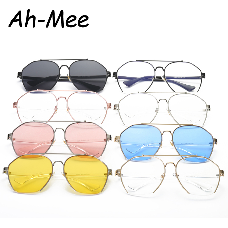 Women Eyeglasses Frame Semi-Rimless Goggles Anti Fatigue Radiation Resistant Oval Glasses Frame Eyeglass Vintage Female Eyewear