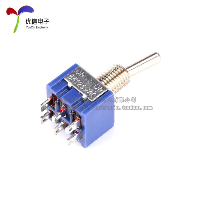 Aliexpress.com : Buy Button switch toggle switch double pole double ...