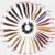 Chocolate Brown #4 Brasileiro Virgem da Onda Do Corpo 9 pcs Cabeça Completa Cabelo humano Clipe Ondulado em Extensões de Cabelo Barato #1/1b/2 Escuro cor