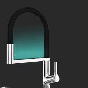 Image 5 - Youpin Dabai U Yue Küche Intelligente Sensor Schalter Wasserhahn 300 Rotierenden Arm Universal Rohr Wasser Küche Stensils