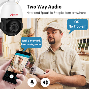 Image 3 - ANRAN 1080P PTZ IP Camera Outdoor Waterproof Speed Dome Camera 20 X Zoom Lens 60M IR Night Vision Security Camera Support Onvif