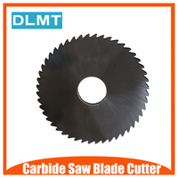 1pcs 100mm 0.8 1.0 2 Saw Blade Circular Solid Carbide Round Slitting Saw Cutter 48T CNC Cutter Knife Metal Slotting Cutting Tool