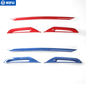Image 5 - MOPAI Car Styling ABS Car Tail Rear Bumper Board Decoration Trim Stickers for Chevrolet Camaro 2017 Up Car Accessories