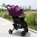 Легкий портативный автомобиль зонтик коляска может сидеть может лежать детская коляска свет складной маленькая детская коляска