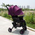 Cochecito ligero del paraguas del coche portable puede sentarse puede mentir plegable ligero cochecito de bebé pequeño carro de bebé