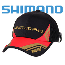 2017 nuevo shimano sol y gorra de pesca artes de pesca anti-ultravioleta de ala del sombrero alarga transpirable protector solar ca-122n sport envío gratis