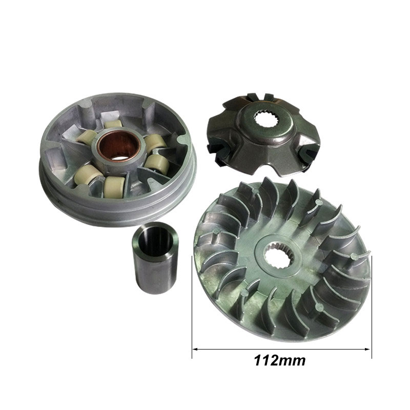Motorcycle Drive Clutch Variator Pulley Roller Assembly for Suzuki AN125 HS125T AN 125 125cc Scooter Engine Spare Parts