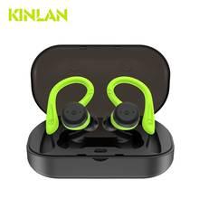 Bluetooth 5.0 True Wireless Bluetooth Headphones Bass HiFi Stereo In-Ear Earphone Wireless Earbud Sport Noise Cancelling Headset недорого