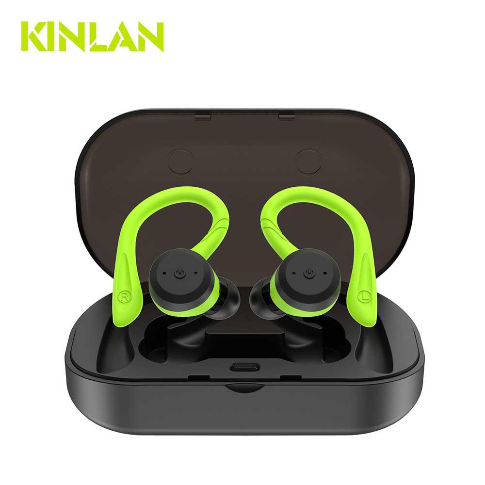 Bluetooth 5.0 vrai casque sans fil Bluetooth basse HiFi stéréo écouteurs intra-auriculaires sans fil écouteurs Sport suppression de bruit casque