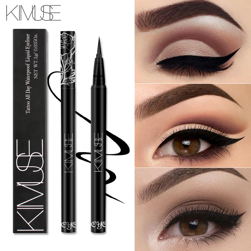 KIMUSE Professional Tattoo Liquid Eyeliner Pen Make Up Eye Liner Pencil 24 Hours Long Lasting Water-Proof Makeup Cosmetic