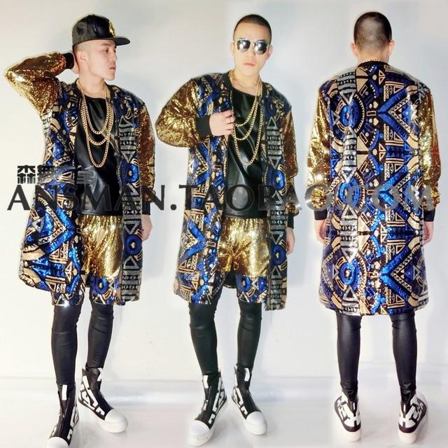 Nightclub Men Singers DJ DS Egypt Party Show dazzle colour Blue ...