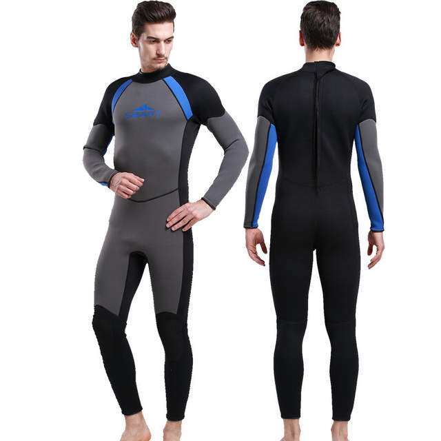 285a83f8f02b Wetsuit men's sportswear neoprene swimsuit diving suit 3mm neoprene  spearfishing suit womens surf suit scuba diving-in Wetsuit from Sports &  Entertainment ...