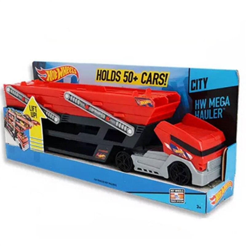 hotwheels toy cars big scale model heavy haul trucks hot wheels track storage oyuncak araba car