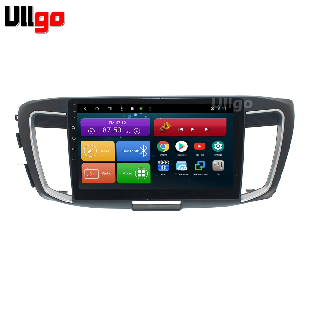 10.1 inch Octa Core <font><b>Android</b></font> Car <font><b>dvd</b></font> gps for Honda Accord 2014-2017 <font><b>Autoradio</b></font> GPS Car Stereo Unit With Radio Mirrorlink wifi image