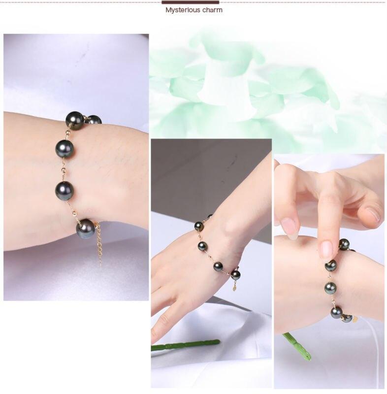 gold pearl bracelets 77