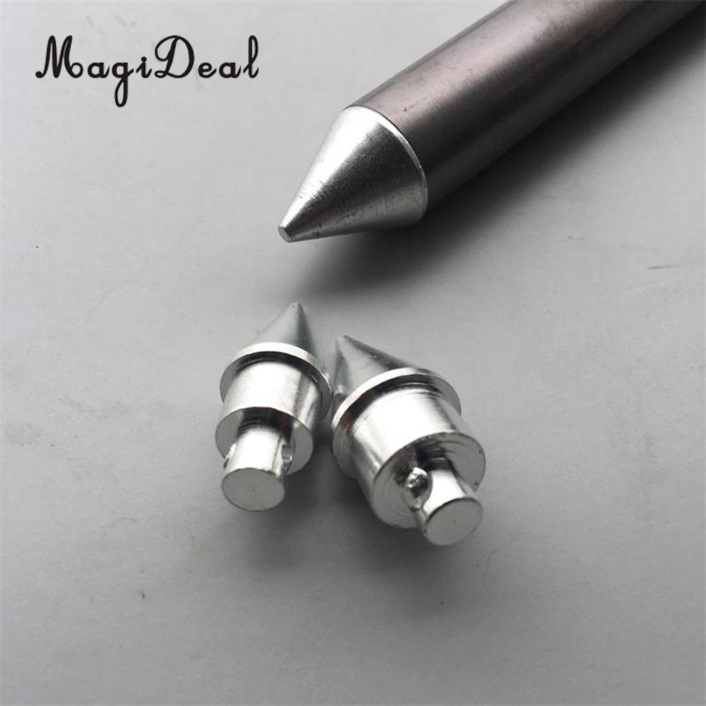 Aluminum Alloy Tent Pole End Tip Plug Replacement Accessory Camping Hiking