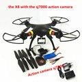 Syma X8W/X8C/X8 FPV Drone con Cámara FHD drones con cámara de 12MP hd 6 Ejes dron Quadcopter RC quadrocopter Helicóptero Fit SJ7000