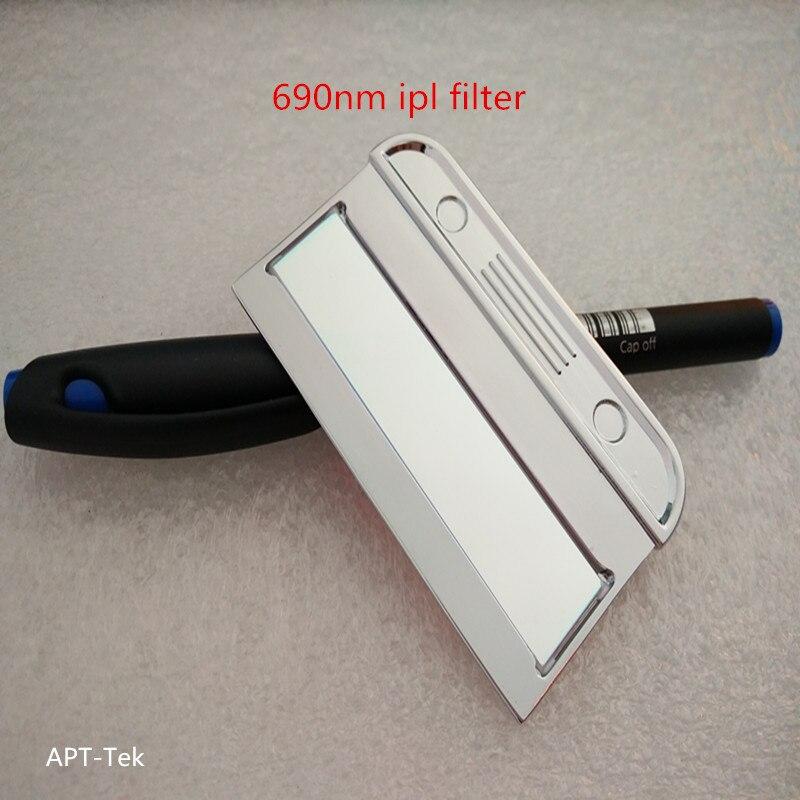 690nm ipl filter with 5 pieces for shr e-light handle title skin rejuvenation ipl shr e light handle for sale hr handle