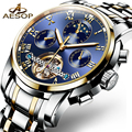 AESOP часы мужские роскошные 2019 Мужские автоматические механические мужские наручные часы водонепроницаемые мужские часы Relogio Masculino