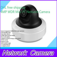English Version DS 2CD2F42FWD IWS 4MP WDR Mini PT Network Cctv Camera MINI WIFI IP CAMERA