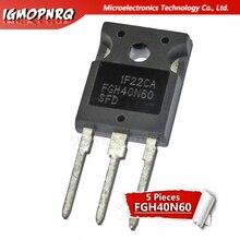 Livraison gratuite 5 pièces/lot FGH40N60SFD FGH40N60 40N60 tube variable IGBT soudeuse nouveau original