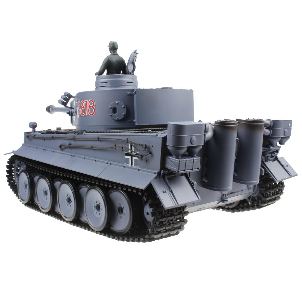 1f0bb74f20757 2.4G 1:16 Remote Control Germany Tiger Tank AirSoft BB Shooting ...