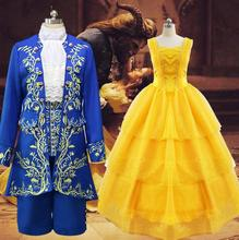 Fantasia Women Halloween Cosplay The Beauty And Beast Adult Princess Belle Costume Yellow Long Dress