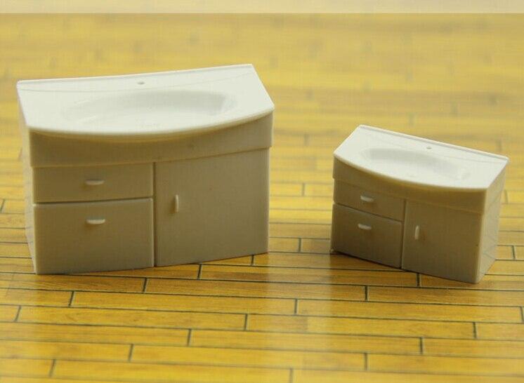 Lavadora Con Lavabo.Modelo Arquitectonico Muebles Muebles Maqueta Modelo De