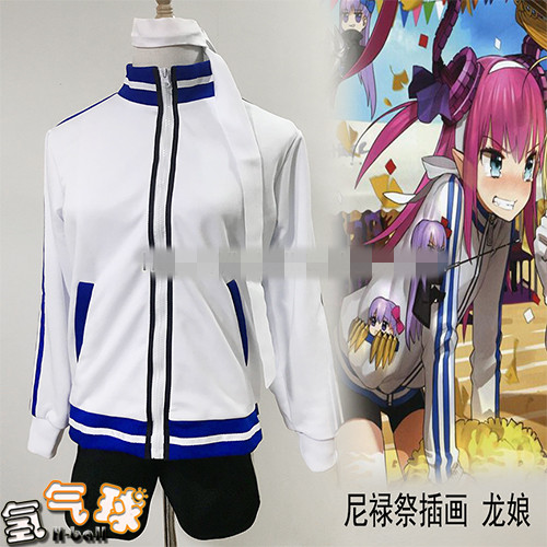 Erzsebet Bathory Nero Tamamo no Mae Fate/Grand Order Cosplay daily suit cos shorts track suit for women can custom made 2